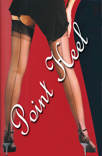 Extra Tall Stockings with a Point Heel