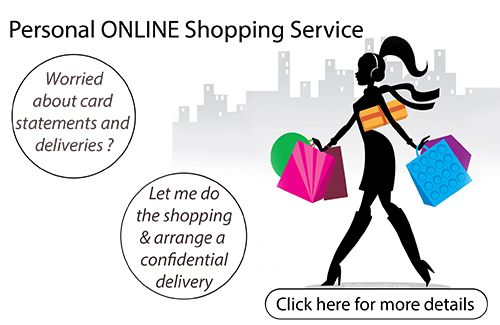 Let me help you buy anything you want online - in total personal privacy