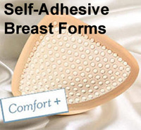 Self Adhesive Crossdresser breast forms